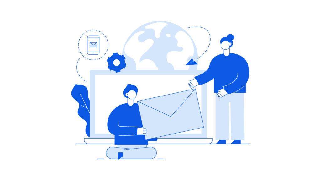 Sending large files via e-mail