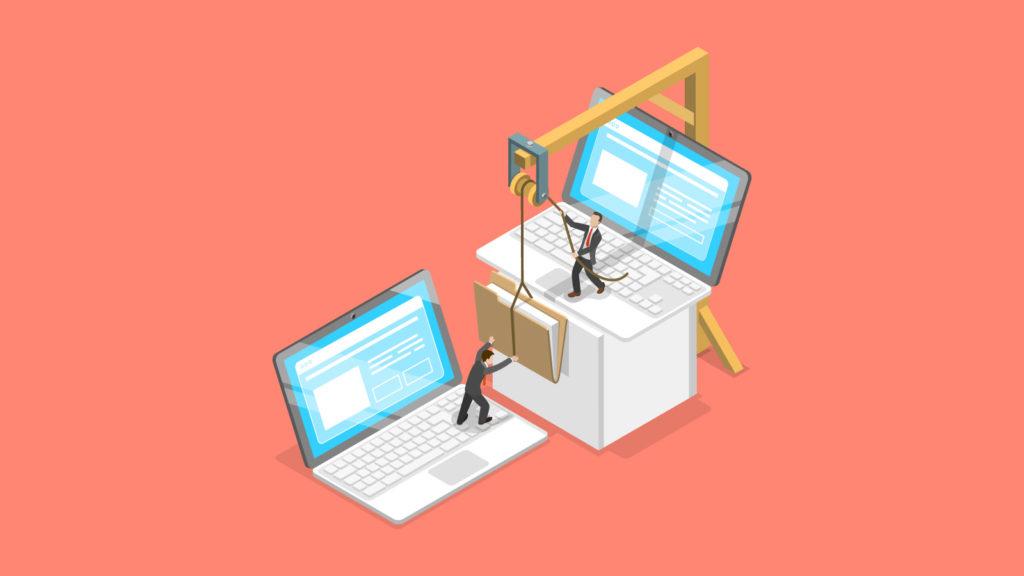 Sending folders