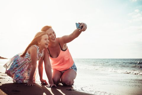 Sending pictures online